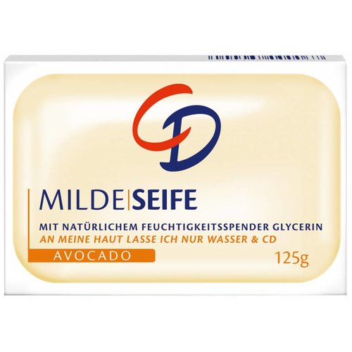 CD Milde Seife Avocado (125g)
