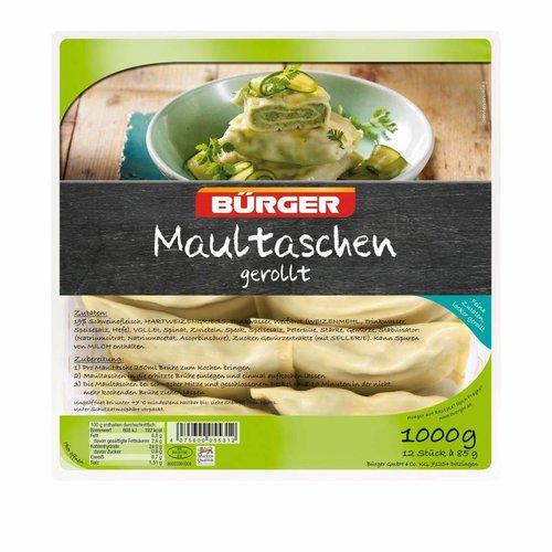Bürger Maultaschen gerollt (1000g)