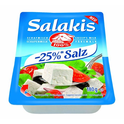 Salakis Schafskäse -25% Salz (180g)