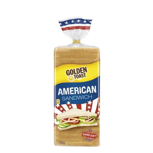 GoldenToast American Sandwich (750g)