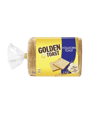 GoldenToast Vollkorn Toast (250g)