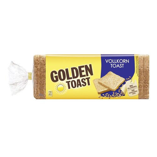 GoldenToast Vollkorn Toast (500g)