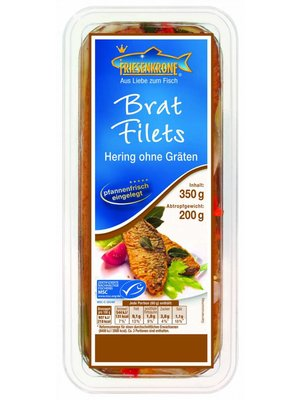 Friesenkrone Herings-Bratfilets (350g)