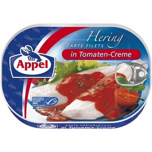 Appel Heringsfilet in Tomaten-Creme (200g)