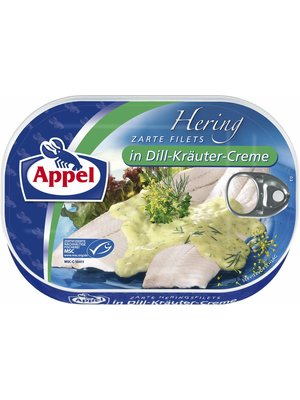 Appel Heringsfilet in Dill-Kräuter (200g)