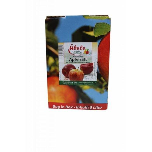 Mosterei Übele (Westhausen) Apfel Direktsaft naturtrüb (5l Bag in box)