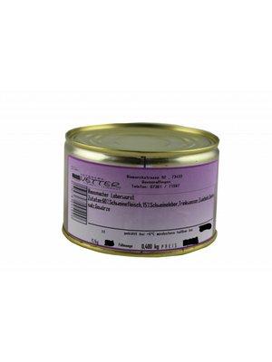 Metzgerei Vetter (Wasseralfingen) Hausmacher Leberwurst (400g/Dose)