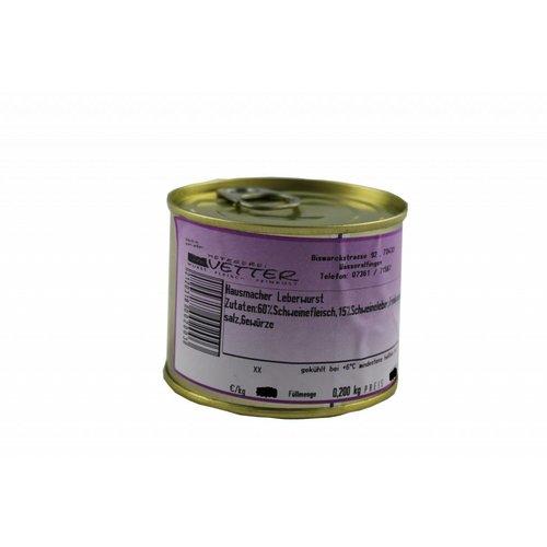 Metzgerei Vetter (Wasseralfingen) Hausmacher Leberwurst (200g/Dose)