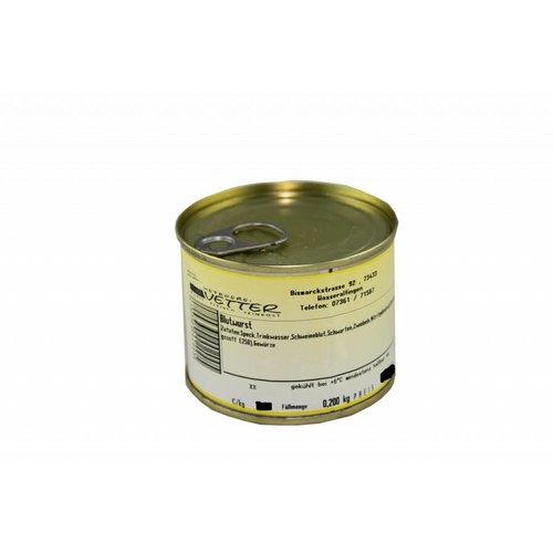 Metzgerei Vetter (Wasseralfingen) Blutwurst (200g/Dose)