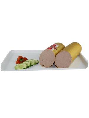 Metzgerei Vetter (Wasseralfingen) Kalbsfleischleberwurst (100g)