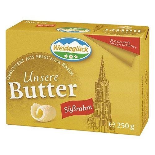 Weideglück Süßrahm - Butter (250g)