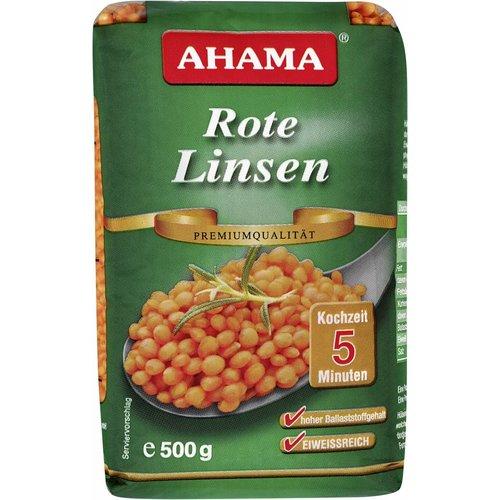 Ahama Rote Linsen Premiumqualität (500g)
