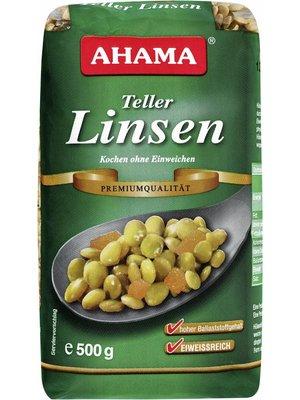 Ahama Teller Linsen Premiumqualität (500g)