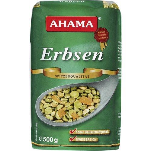 Ahama Grüne Erbsen (500g)