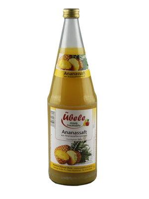Übele Ostalb-Fruchtsäfte (Westhausen) Ananassaft (1l)