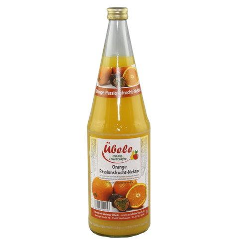 Übele Ostalb-Fruchtsäfte (Westhausen) Orange-Passionsfrucht Nektar (1l)