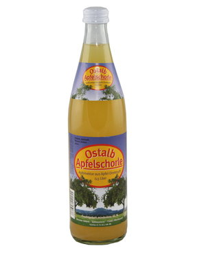 Übele Ostalb-Fruchtsäfte (Westhausen) Ostalb Apfelsaftschorle naturtrüb (Kiste 10x0,5l)