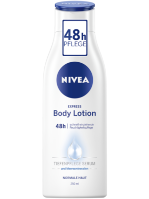 Nivea Express Body Lotion (250 ml)