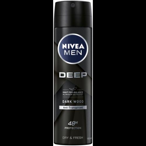 Nivea Deo Spray Antitranspirant Deep (150ml)