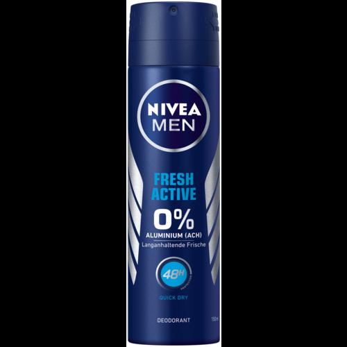 Nivea Deo Spray Deodorant Fresh Active (150ml)