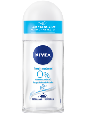 Nivea Deo Roll On Deodorant Fresh Natural (50ml)