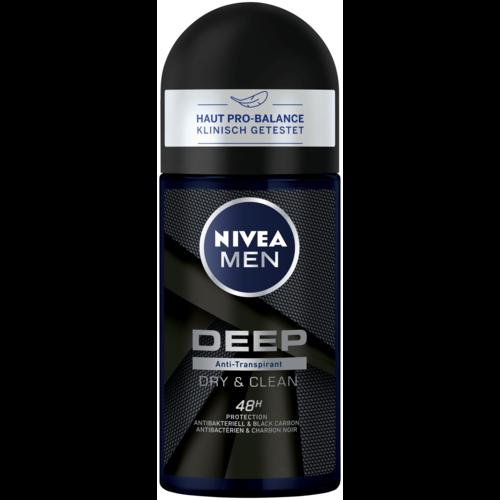 Nivea Deo Roll On Antitranspirant Deep (50ml)