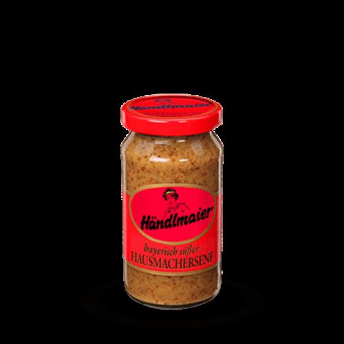 Händlmaier süßer Hausmachersenf (200ml Glas)