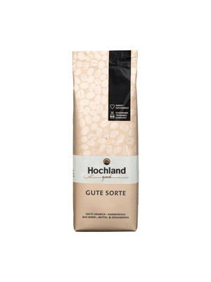 Hochland Kaffee Gute Sorte ganze Bohnen (1 kg)