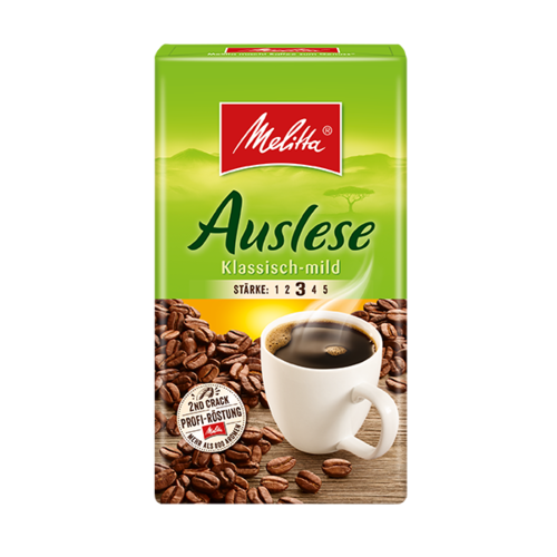 Melitta Filterkaffee Auslese mild  (500g)