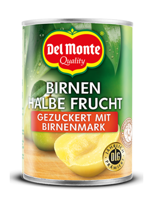 del Monte Birnen halbe Frucht gez. (230g)