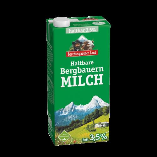 Berchtesgadener Land haltbare Bergbauern Milch 3,5% (1l)