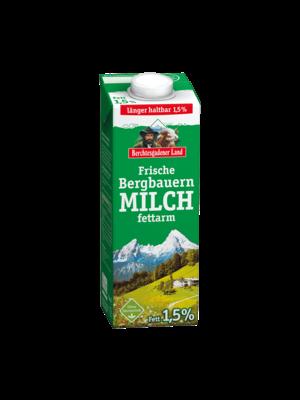 Berchtesgadener Land Frische Bergbauern Milch fettarm 1,5% (1l)