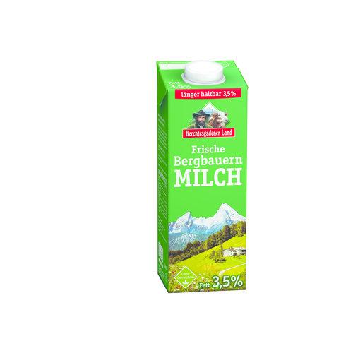 Berchtesgadener Land Frische Bergbauern Milch 3,5% (1l)