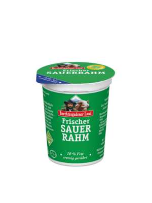 Berchtesgadener Land Frischer Sauerrahm 10% (200g)
