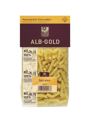 Alb Gold Spiralen (500g)