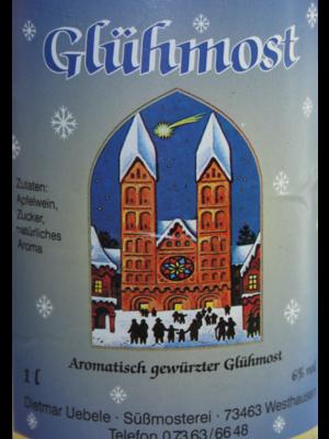 Übele Ostalb-Fruchtsäfte (Westhausen) Glühmost (1l)