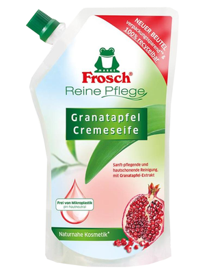Frosch Pflegeseife Granatapfel  NF (500 ml)