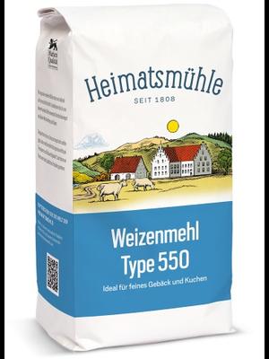 Heimatsmühle (Aalen) Weizenmehl Type 550 (2,5kg)