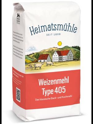 Heimatsmühle (Aalen) Weizenmehl Type 405 (2,5kg)