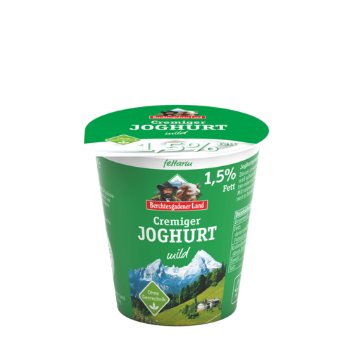 Berchtesgadener Land Joghurt mild 1,5% (150g)