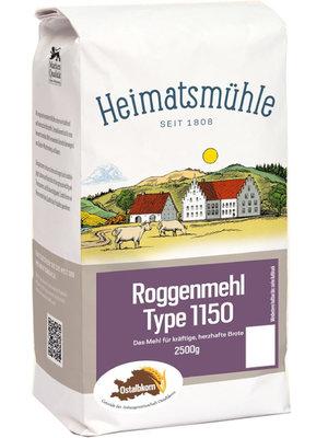 Heimatsmühle (Aalen) Ostalbkorn Roggenmehl Type 1150 (2,5kg)