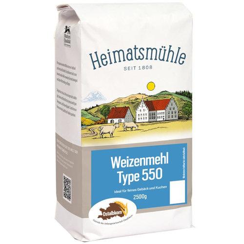 Heimatsmühle (Aalen) Ostalbkorn Weizenmehl Type 550 (2,5kg)