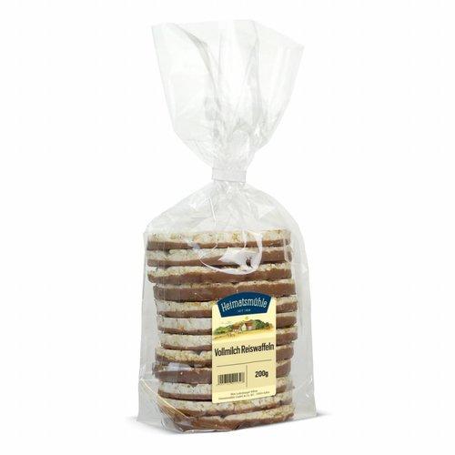 Heimatsmühle (Aalen) Vollmilch Reiswaffeln (200g)