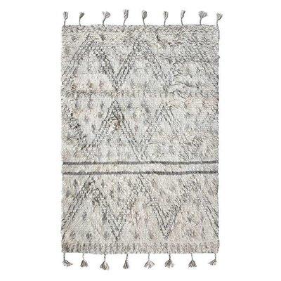 HK Living Handgeknoopt wollen berberkleed (180x280)