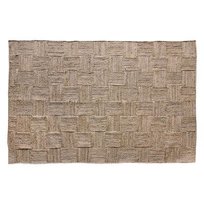 HK Living Patched jute rug