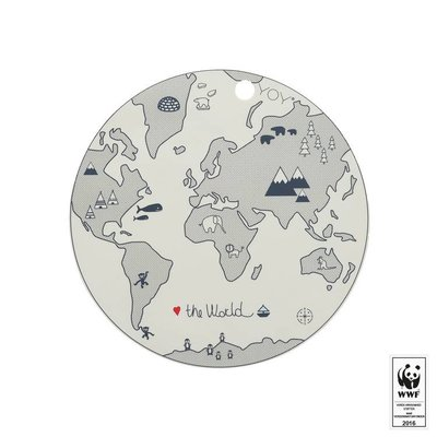 OYOY Placemat - The world