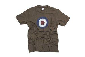 T-shirt RAF groen