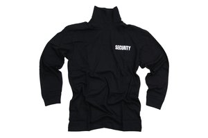 T-shirt security lange mouw