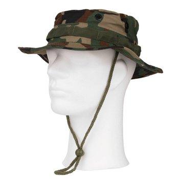 Bush hoed de luxe ripstop woodland