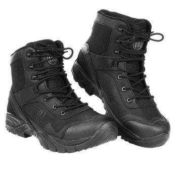 Recon boots medium-high zwart